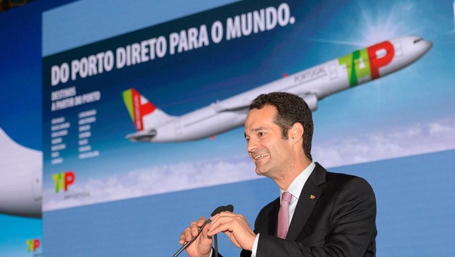 Antonoaldo Neves, presidente da TAP