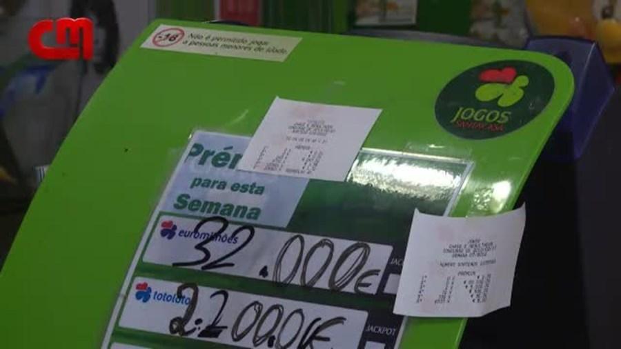 Euromilhões dá prémios em Vila Real e Espanha
