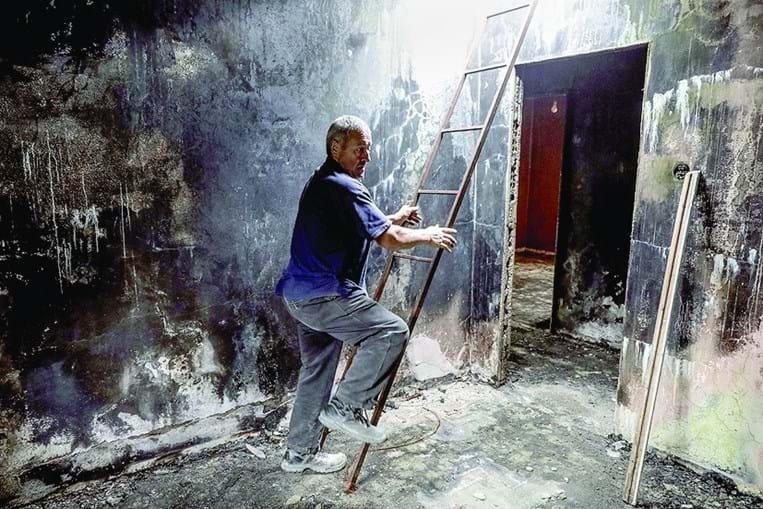 João Ferreira perdeu a casa em Pedrógão Grande