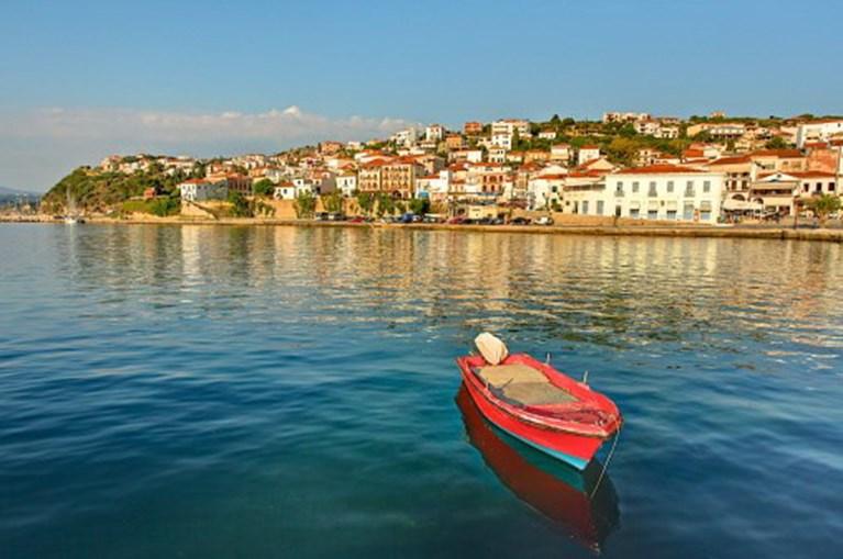 A cidade grega de Pylos