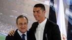 Italianos dizem que presidente do Real Madrid está a pedir mais dinheiro por Ronaldo