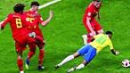 Brasil cai na teia belga e fica fora do Mundial