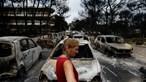 Balanço de mortos dos fogos da Grécia sobe para 85 pessoas