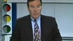 Morreu José Pinto, o jornalista que apresentou o 'Rotações' na RTP