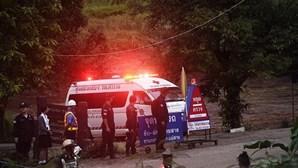 Crianças foram medicadas antes do resgate na gruta da Tailândia