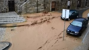 Chuva e granizo provocam inundações e estragos em Vila Pouca de Aguiar