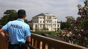 Palacete do Aga Khan em Lisboa vigiado por forte dispositivo de segurança