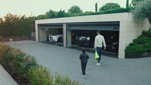 Ronaldo vende tudo em Espanha