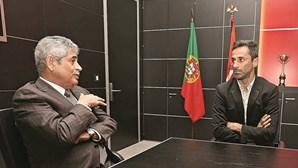 Jonas pressiona Luís Filipe Vieira