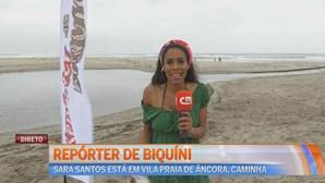 Repórter em Bikini
