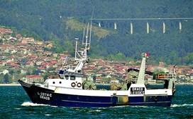 Embarcação 'Draco', onde estavam sete pescadores