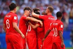 Inglaterra vence frente à Suécia