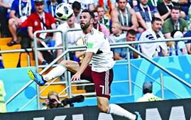 Miguel Layún esteve em destaque pela seleção do México no Mundial a decorrer na Rússia