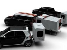 Caravana extensível sem rodas cria novo conceito de Hotel