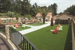 Propriedade dispõe de diversos espaços verdes para relaxar e conviver no meio da natureza e em família