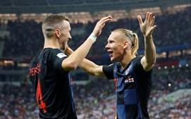 Croácia e Inglaterra