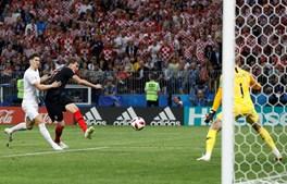 Mandzukic marcou o golo que deu a vitória à Croácia na meia final contra a Inglatera