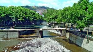 As terras acumularam-se nas praias fluviais de Oliveira do Hospital e Arganil