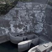 Imagens da gigantesca obra na Barragem da Caniçada