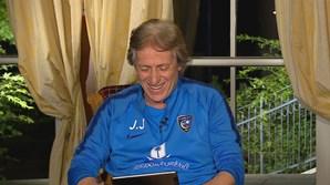 Jorge Jesus feliz na nova equipa