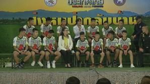 Jovens resgatados, Tailândia