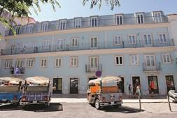 Robles e a irmã são donos de um prédio em Alfama