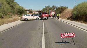 Acidente na EN125 faz um morto e oito feridos em Lagoa, no Algarve
