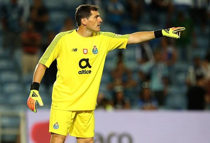 Casillas mostra os seus