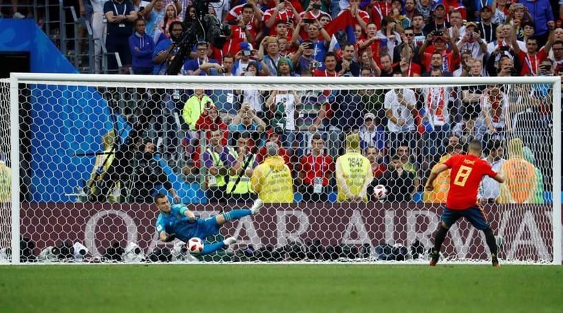 77d9d81442 Rússia segue para os quartos de final após bater Espanha nos penáltis