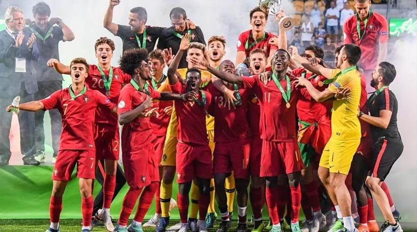 Portugal sagra-se campeão europeu de sub-19 em final histórica ... e8cbe3ba9f07e