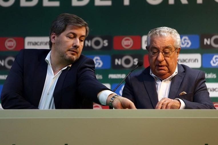 Bruno de Carvalho e Fernando Correia
