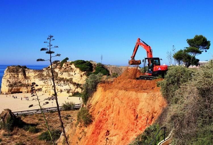 Operação da câmara a pedido da Agência Portuguesa do Ambiente