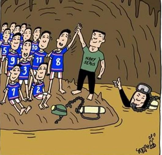 Crianças e treinador ficaram presos em gruta na Tailândia