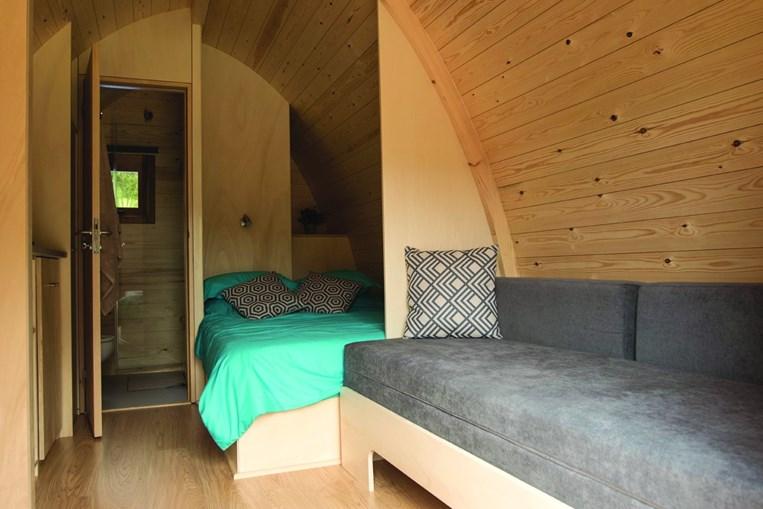 Habitações do rural retreats estão totalmente equipadas para assegurar conforto sem descurar a ligação à natureza