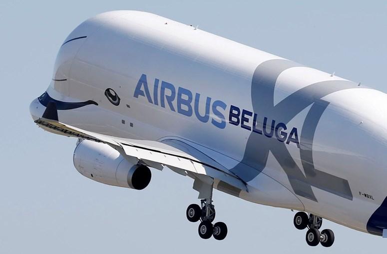 Airbus Beluga XL no seu primeiro voo