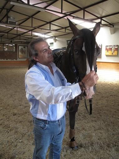 Cavaleiro Joaquim Bastinhas volta a tourear