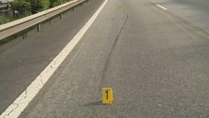 Colisão entre dois carros corta EN 118 em Benavente