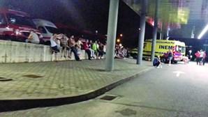 Dezenas de ambulâncias retidas nas urgências em hospital de Penafiel