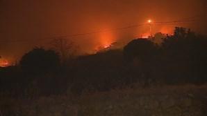 Combate às chamas em Monchique reforçado com operacionais e viaturas