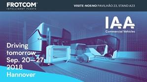 Frotcom prepara-se para a feira IAA 2018 Commercial Vehicles