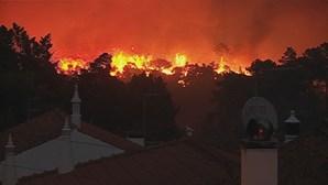 Monchique ainda aguarda reparação dos danos do incêndio de 2018. Reveja as imagens do fogo