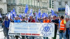 Forças policiais fazem protesto conjunto a 25 de outubro em Lisboa