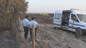 Cinco militares da GNR feridos em combate a incêndio em Évora