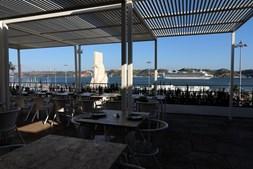 Esplanada Topo Belém, em Lisboa