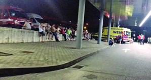 Dezenas de ambulâncias retidas nas urgências em Penafiel