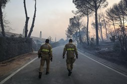 Fogo em Monchique