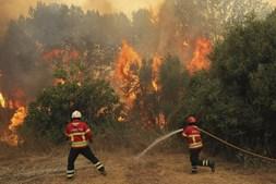 Fogo em Monchique não deu tréguas a populares e bombeiros