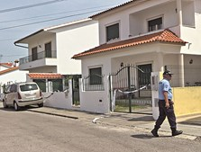 Moradia onde mulher matou marido em Abrantes