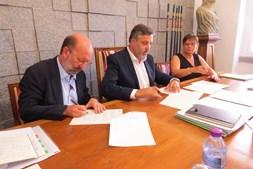 Ministro avaliou estragos no Centro de Reprodução do Lince Ibérico