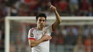 Eram três da manhã na China e Gaitán estava acordado a ver o Benfica